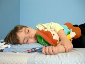 Sov mit barn!