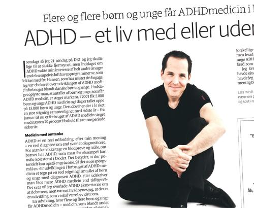 ADHD – et liv med eller uden Ritalin