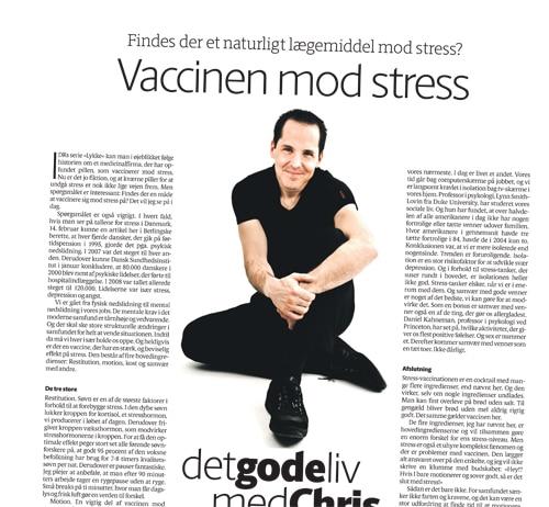 Vaccinen mod stress