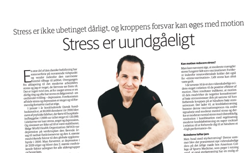 Stress er uundgåeligt